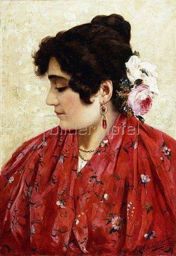 Vicente Nicolau Cotanda: Eine spanische Schönheit. 1897