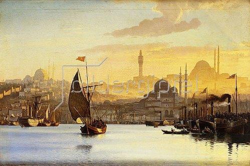 Carl Neumann: Konstantinopel. 1875