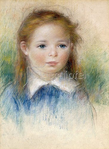 Auguste Renoir: Mädchenbildnis.