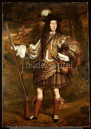 John Michael Wright: Ein Häuptling aus den Highlands: Portrait von Lord Mungo Murray (1668-1700).