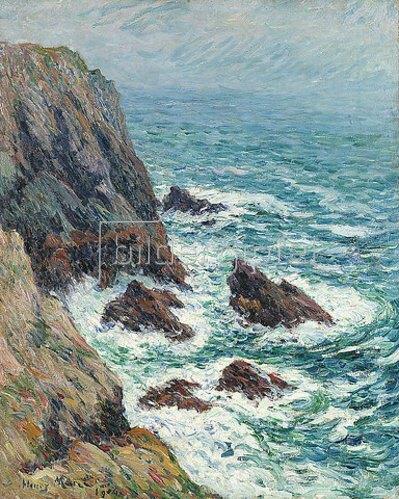 Henri Moret: L'Ile de Groix. 1904