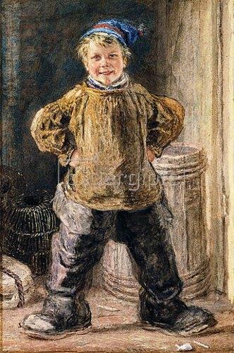 William Henry Hunt: In Großvaters Schuhen.