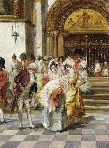 Emilio Poy Dalmau: Die Taufe. 1903