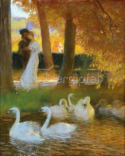 Gaston de Latouche: Der Herbstspaziergang. 1896