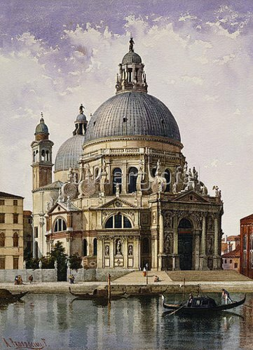 Alberto Prosdocimi: Santa Maria della Salute, Venedig.