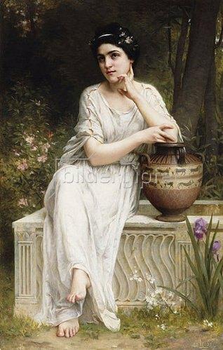Charles Amable Lenoir: Eine griechische Schönheit. 1901
