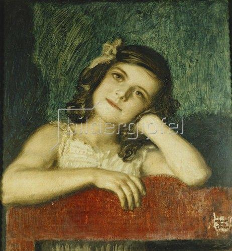 Franz von Stuck: Mary, die Tochter des Künstlers.