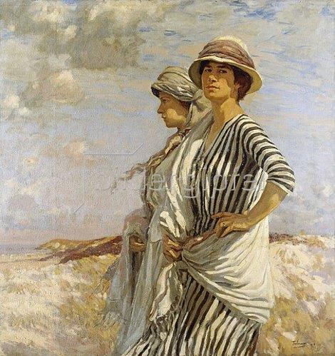 Algernon Talmage: Mrs. Talmage und eine Freundin. 1916