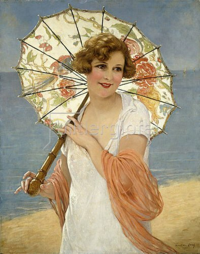 Francois Martin-Kavel: Der Sonnenschirm.