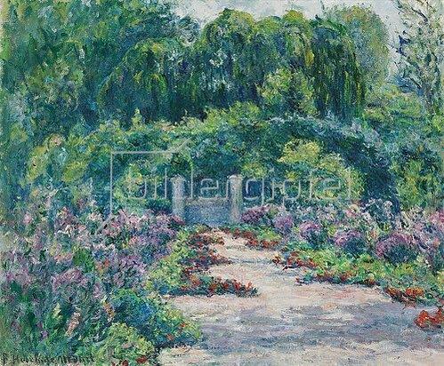 Blanche Hoschedé-Monet: Der Garten.