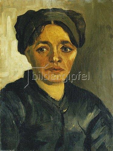 Vincent van Gogh: Kopf einer Bäuerin. 1884