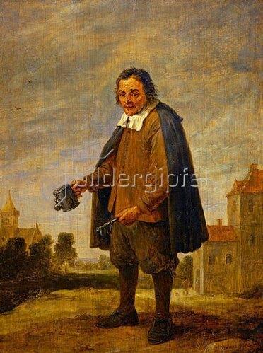 David Teniers: Der Sammler mit einer Rassel in der Hand. 1671