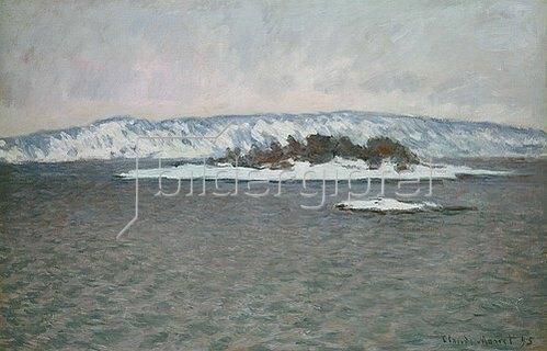 Claude Monet: Der Fjord von Christiania (Oslo). 1895