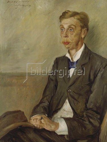 Lovis Corinth: Bildnis Eduard Graf von Keyserling. 1900