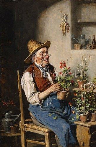 Hermann Kern: Der Blumenzüchter.