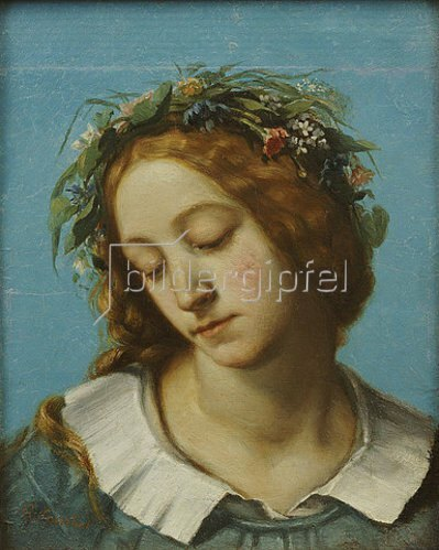 Gustave Courbet: Ophelia. 1842
