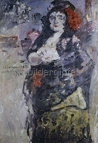Lovis Corinth: Carmencita (Bildnis Charlotte Berend-Corinth in spanischer Tracht). 1924