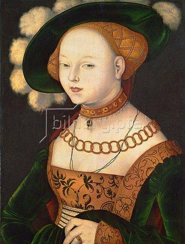 Hans Baldung (Grien): Bildnis einer Dame. 1530 (?)