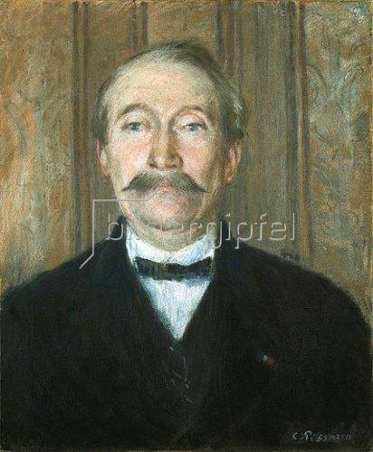 Camille Pissarro: Portrait von Père Papeille, Pontoise.