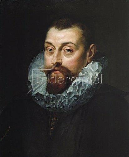 Peter Paul Rubens: Bildnis eines Mann mit weißer Halskrause. Um 1597-99