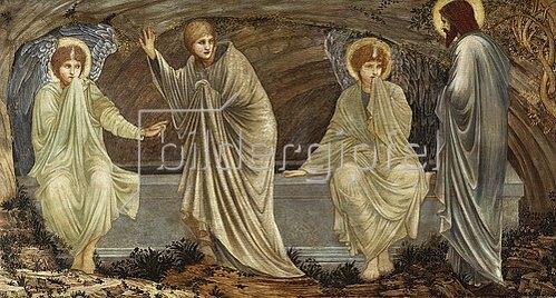 Sir Edward Burne-Jones: Am Morgen der Auferstehung. 1882