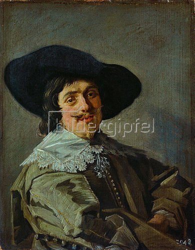 Frans Hals: Bildnis eines jungen Mannes in gelbgrauem Rock. Um 1633