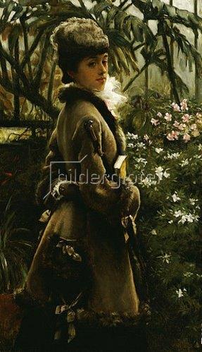 James Jacques Tissot: Im Wintergarten. Um 1867-69