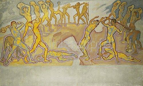 Koloman Moser: Kampf der Titanen. Um 1913-1915