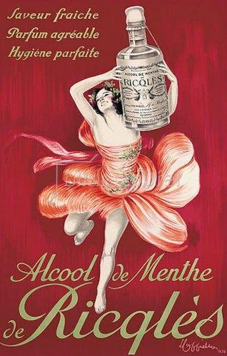 Leonetto Cappiello: Alcool de menthe de Ricqles. 1924