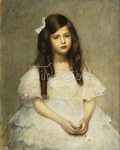 Louis Picard: Porträt eines Mädchens. 1906