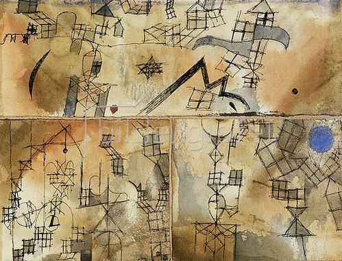 Paul Klee: Dreiteilige Komposition. 1918