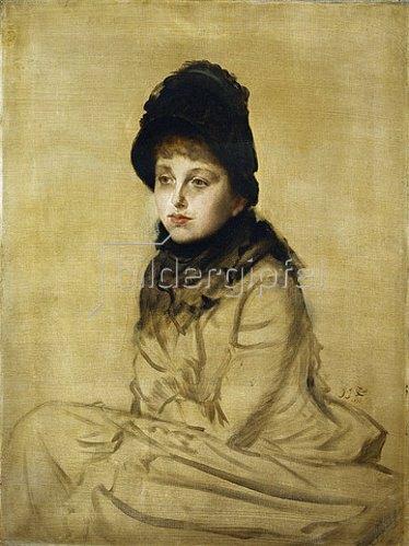 James Jacques Tissot: Bildnis Kathleen Newtons. 1877