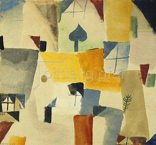 Paul Klee: Fenster. 1919.