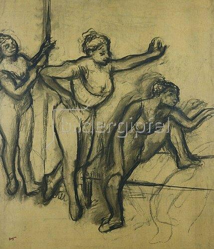 Edgar Degas: Drei Tänzerinnen in Leotards (Trois Danseuses en Maillot). 1903