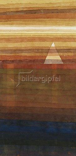 Paul Klee: Einsames. 1928