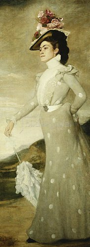 Adolf Heller: Bildnis einer Dame. 1899