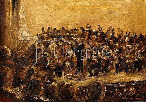 Max Liebermann: Sinfoniekonzert in der Staatsoper, Unter den Linden, Berlin. 1923
