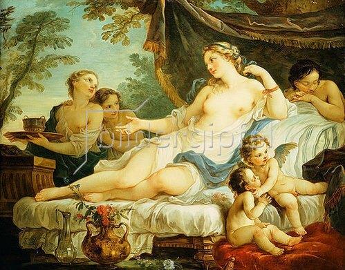 Charles-Joseph Natoire: Erwachende Venus (Le Reveil de Venus).
