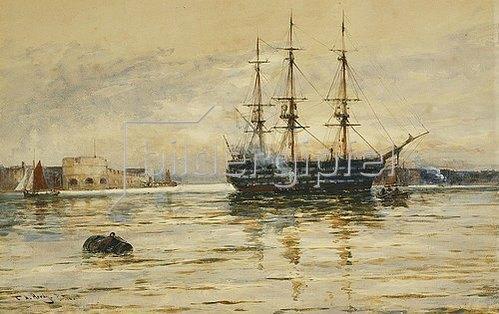 Thomas Bush Hardy: Portsmouth.