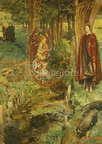 John Byam Liston Shaw: Zeit und Schicksal gilt für alle in gleichem Maße. 1901