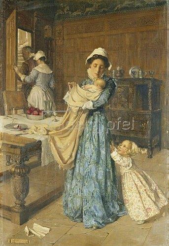 Christian Mary Wilbee: Das Findelkind aus dem Meer. 1912