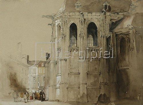 David Roberts: Dieppe. 1828