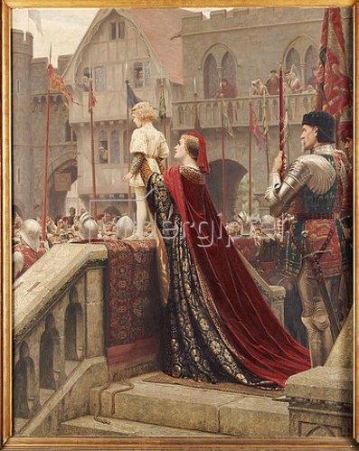 Edmund Blair Leighton: Der kleine Thronanwärter. 1904
