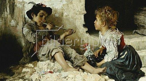 Adriano Bonifazi: Eine faszinierte Zuhörerin. 1876