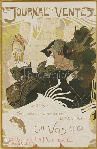 Georges de Feure: Le Journal des Ventes. 1897