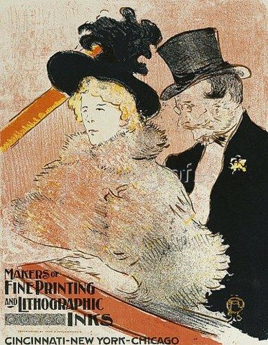 Henri de Toulouse-Lautrec: Im Konzert. 1896