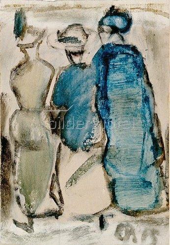 Christian Rohlfs: Drei Frauen. 1915/16