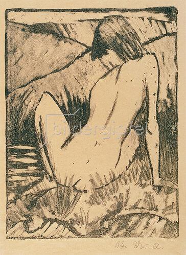 Otto Mueller: Olympia. 1922