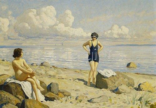 Paul Fischer: Strandtag.