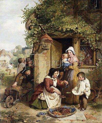 George Smith: Die Kirschenverkäuferin. 1856